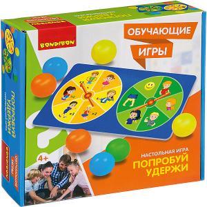 Настольная игра  Обучающие игры Попробуй удержи Bondibon