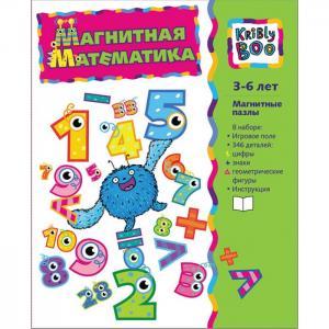 Книжка Магнитная математика для малышей Kribly Boo