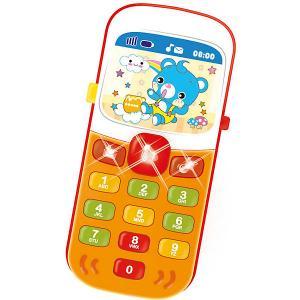 Игрушка  Мой первый смартфончик Bebelino. Цвет: разноцветный