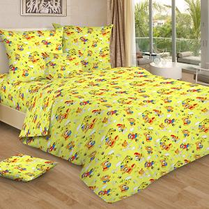 Детское постельное белье 3 предмета , BG-98 Letto. Цвет: желтый
