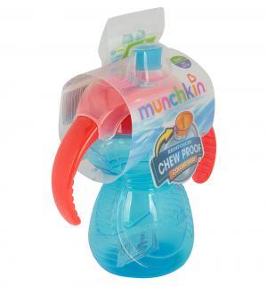 Поильник-чашка  Click Lock С ручками, от 6 мес, цвет: голубой Munchkin