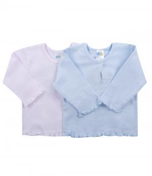 Кофточка для девочки 2 шт. (голубая/розовая) Olla. Цвет: розовый