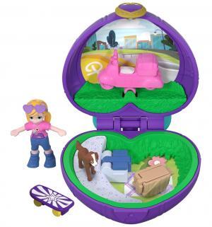 Компактный игровой набор  Розовый скутер Polly Pocket