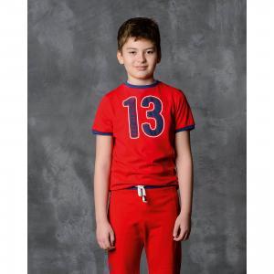 Футболка для мальчика Modniy Juk. Цвет: красный