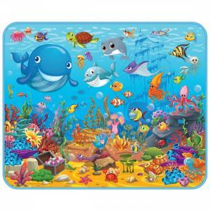 Игровой коврик  развивающий Подводный мир 130х160х0.5 см Mambobaby