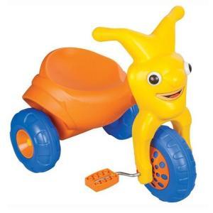 Трехколесный велосипед  Clown, цвет: оранжевый Pilsan