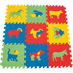 Игровой коврик  Животные Pilsan. Цвет: разноцветный