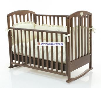 Детская кроватка  Cucciolo 120х60 Bambolina
