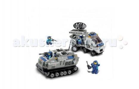 Конструктор  Военный спецназ BOX M38-B0207R (449 элементов) Sluban
