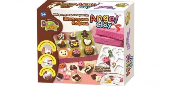 Масса для лепки Шоколадная мастерская Angel Clay