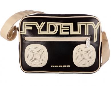 Сумка  G-force shoulder bag, цвет: черный Fydelity