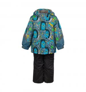 Комплект куртка/полукомбинезон  Арни, цвет: синий Oldos