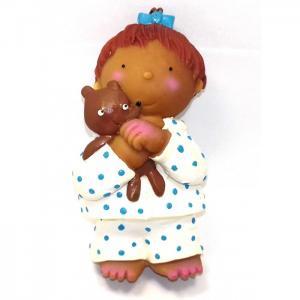 Латексная игрушка Девочка с медвежонком 1317 Lanco
