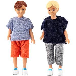 Кукла для домика  Два мальчика Lundby. Цвет: разноцветный