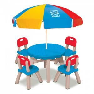 Grown up Летний набор (столик, 4 стула, зонт) Grow'n
