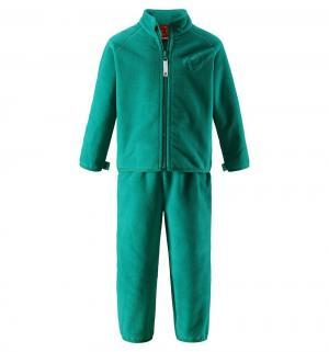 Комплект кофта/брюки  Etamin, цвет: зеленый Reima