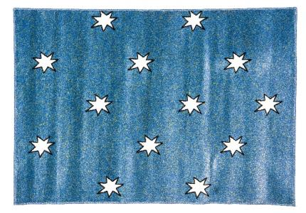 Ковер Night Flash , размер 117х170, цвет синий Sai Carpets