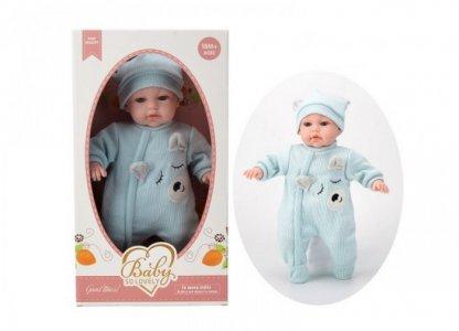 Кукла Baby So Lovely пупс в костюмчике и шапочке 35 см Junfa