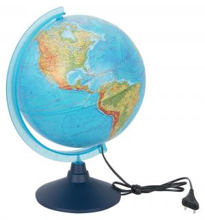 Глобус - физико-политический с подсветкой d=250 мм Globen