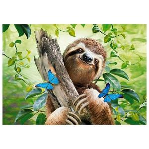 Пазл  Счастливый ленивец, 500 деталей Castorland