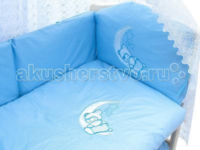 Комплект в кроватку  2032 (7 предметов) Мой Ангелок