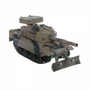 Радиоуправляемый боевой танк с пульками адаптером FullFunk Play Smart