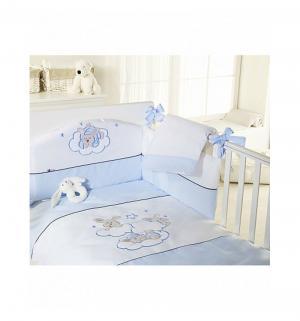 Комплект постельного белья  Etoile, цвет: голубой Feretti