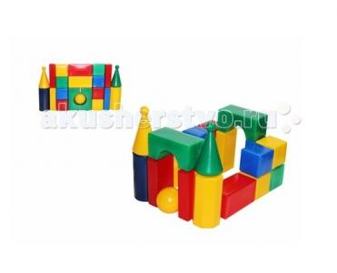 Развивающая игрушка  Строительный набор Стена-смайл (21 элемент) СВСД