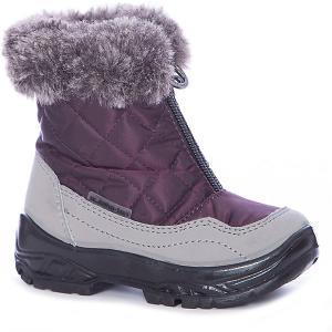 Утепленные ботинки Alaska Originale. Цвет: бордовый