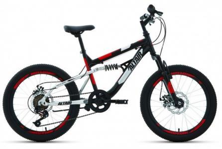 Велосипед двухколесный  MTB FS 20 disc 2021 Altair