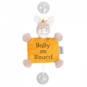Знак Baby on board Tim & Tiloo Лошадка Nattou