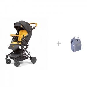 Прогулочная коляска  Modo с рюкзаком для мамы Yrban MB-104 в голубой расцветке Giovanni