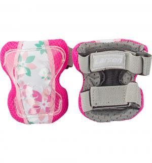 Комплект защиты  P10Flower L, цвет: розовый Larsen