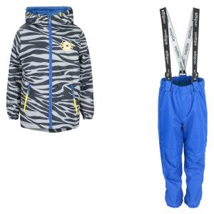 Комплект куртка/полукомбинезон , цвет: серый Boom By Orby
