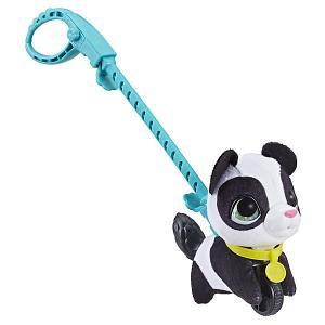 Мягкая игрушка FurReal Friends Маленький питомец на поводке Панда Hasbro