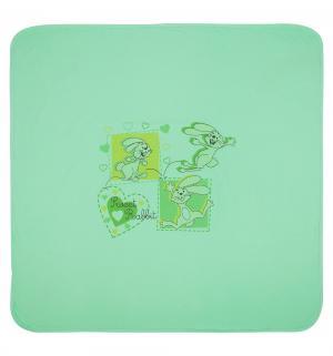Плед  90 х см, цвет: зеленый Три медведя