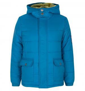 Куртка , цвет: бирюзовый Button Blue