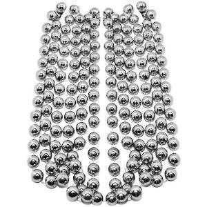 Буcы-шарики на ёлку  2,7 м., серебро B&H. Цвет: разноцветный