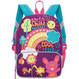 Рюкзак детский , лилово - бирюзовый Grizzly