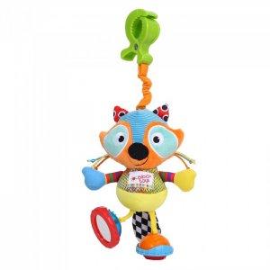Подвесная игрушка  мягкая на прищепке Крошка енот Biba Toys