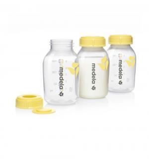 Набор бутылочек-контейнеров  полипропилен с рождения, 150 мл, цвет: прозрачный Medela