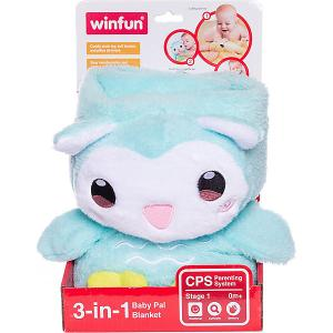Мягкая игрушка 3 в 1  Сова WinFun