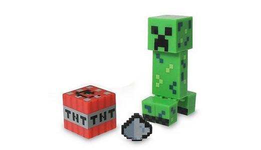Фигурка Крипер с аксессуарами 8 см Minecraft