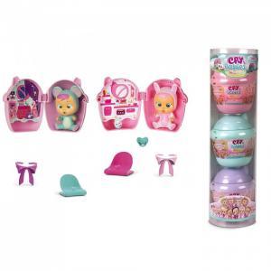 Crybabies Magic Tears Плачущий младенец с домиком и аксессуарами 3 шт. IMC toys