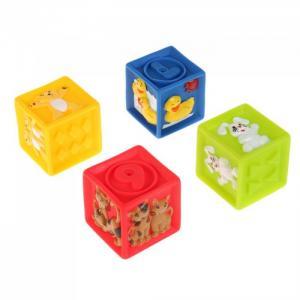 Игрушки для купания Кубики с животными Играем вместе