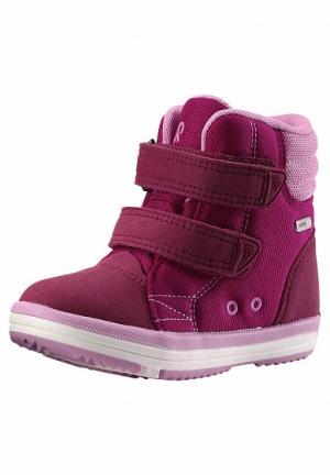 Ботинки  Patter Wash, цвет: фуксия Reima