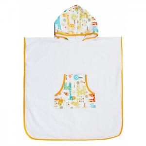 Полотенце-пончо с капюшоном Tender Hugs Жирафики 140х70 см AmaroBaby
