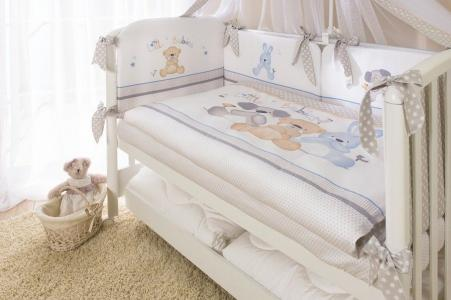 Комплект постельного белья  Венеция, цвет: белый 3 предмета Perina