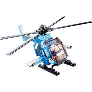 Конструктор  Армия: вертолет-шпион, 101 деталь Sluban