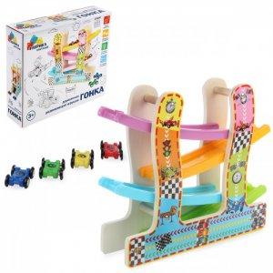 Деревянная игрушка  Гонки 114820 Фабрика фантазий
